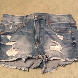American eagle size 6 shorts
